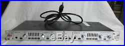 DBX 386 Dual Vacuum Tube Preamp with Digital Out Sweet & Clean Sounding Mic Preamp