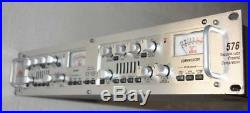 DBX 576 Channel Strip withWorking Tube Preamp/EQ, but Comp has Noise - For Parts