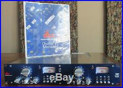 DBX 786 Blue Series 2-Channel Mic Preamp (2 Available)