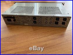 DRAWMER 1960 2-Channel Tube Microphone / Instrument Preamplifier Compressor