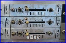DROP JLM racked vintage Norelco / ADM preamps (marinair transformer)