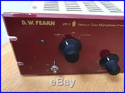DW Fearn VT-1 Tube Preamp