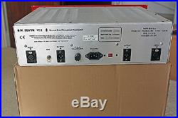 D. W. Fearn VT-2 Dual Channel Vacuum Tube Microphone Preamplifier LN preamp api