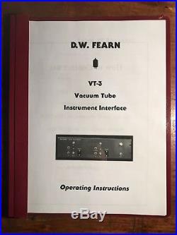 D. W. Fearn VT-3 Vacuum Tube DI