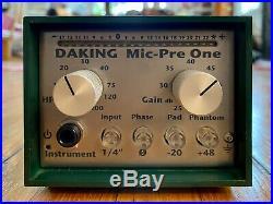 Daking Mic-Pre One