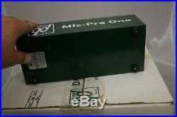 Daking mic pre one Microphone preamplifier with original box