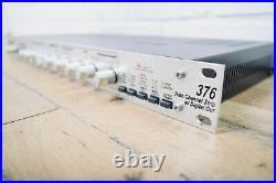 Dbx 376 tube mic preamp channel strip in excellent condition (church owned)