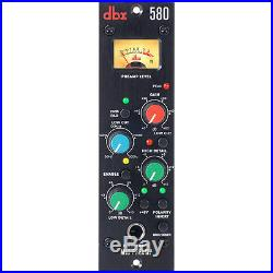 Dbx 580 Microphone/Instrument Solid State Single Channel Mic Preamp VU Meter