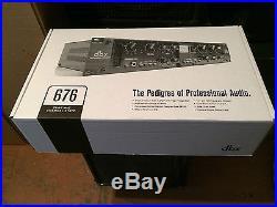 Dbx 676 Tube Microphone Preamplifier Channel Strip/mic pre amp/in box //ARMENS
