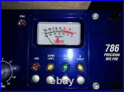 Dbx 786 2 Channel MIC Pre