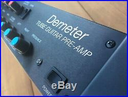 Demeter TGP-3 Tube Guitar PRE-AMP with Foot Switch and Cables