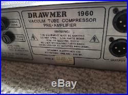 Drawmer 1960 Tube Microphone Preamp/Compressor