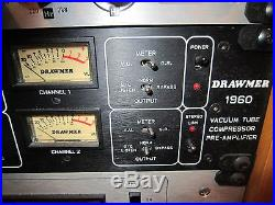 Drawmer 1960 Vacuum Tube Microphone / Instrument Preamplifier/Compressor