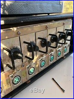 Electrodyne e802 quad eight 8 channel studio mixer altec 1567a