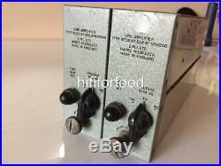 Emi Redd 47 1 Pair (2) MIC Pre Microphone Preamps The Beatles Abbey Road Grail
