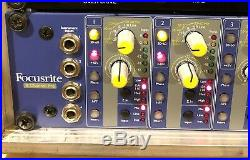 FOCUSRITE ISA828 + ADC Card Installed classic 8 channel mic amp
