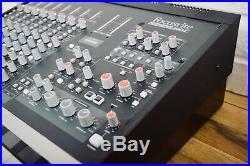 Focusrite Control 2802 DAW preamp mixing console near MINT-audio controller