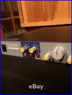 Focusrite ISA 110 Neve Designed! Clean! Limited Edition