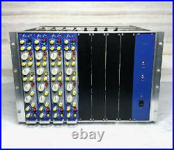 Focusrite ISA 110 Preamp Equalizer Modules in Powered Rack