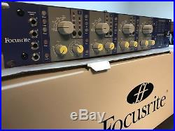 Focusrite ISA 428 MkII 4 Channel Mic Preamp