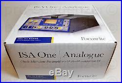 Focusrite ISA One Analog + A/D Card Preamp Vorverstärker WIE NEU + OVP+ Garantie