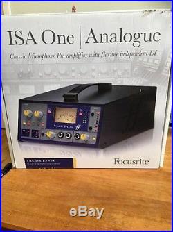 Focusrite ISA One Pre-amp