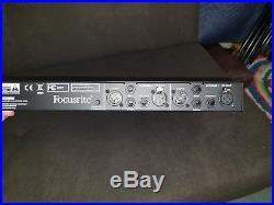 Focusrite ISA Two 2 Channel Microphone Preamplifier / MINT