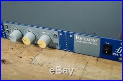 Focusrite ISA Two 2 channel mic preamp, microphone preamplifier studio MINT