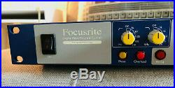 Focusrite Isa110 Limited Edition Mic Pre Eq Top Zustand