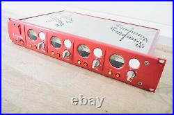 Focusrite Red 1 Quad Mic Pre preamp in excellent condition (church owned)