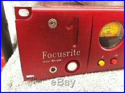 Focusrite Red 1 Quad Microphone Preamp Neve Design ISA Style Mic Pre's 1990's