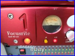 Focusrite Red 1 Quad Microphone Preamp Neve Design ISA Style Mic Pres