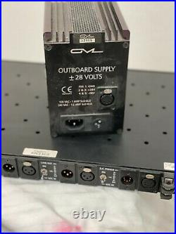 GML 8304 transformerless 4 channel microphone preamp