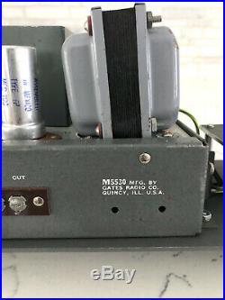 Gates M5530 Tube Preamp