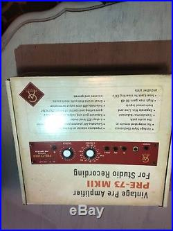Golden Age Pre 73 MKII Microphone Preamp, Slightly Used