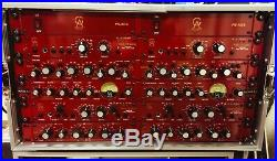 Golden Age Project''Racked Pairs of 4 MIc Pres, 4 EQs and 2 Compressors