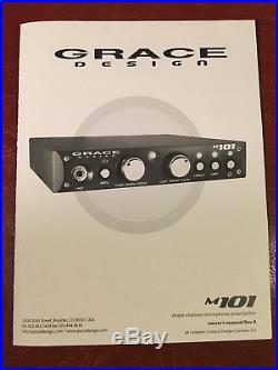 Grace Design M101 Mic Preamp No Minimum, No Reserve
