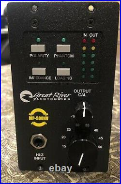 Great River MP-500NV 500 Series Mic Preamp (2 of 2 Separate Auctions)