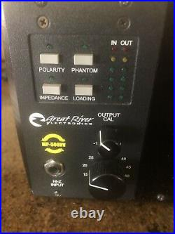 Great River MP-500 NV Mic Preamp with Lindell Audio 506