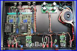 Gruning Audioworks racked pair of Ward Beck 124 preamp cards. Amazing sound