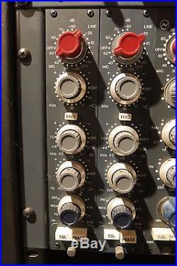 Handmade early Brent Averill Neve 1084 MicPre EQ Module / SN1009 2 of 2