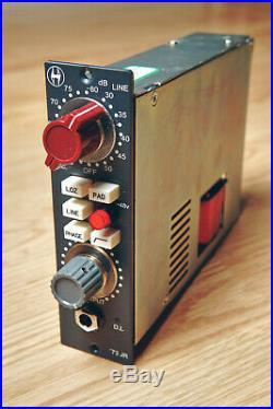 Heritage Audio'73 JR HA73jr Neve 1073-Style Mic Pre DI for API 500 Series