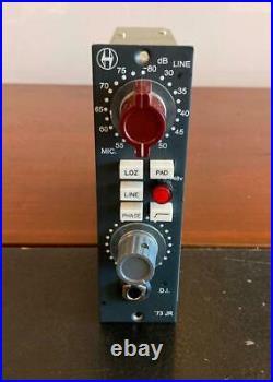 Heritage Audio 73jr 1073 Style Pre Excellent Condition