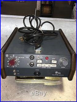 Heritage Audio TT-73 Desktop Microphone Preamp -used-Excellent Condition