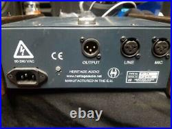 Heritage Audio tt-73 preamp Neve 1073 clone