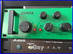 JOEMEEK Stereo Compressor SC4 DAD with M/S Mid/Side Processing and Digital I/O