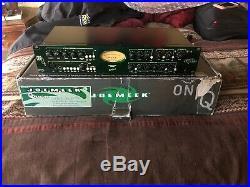 JoeMeek One Q2 Channel Strip Preamp Compressor Eq Cinemag Transformer BurrBrown