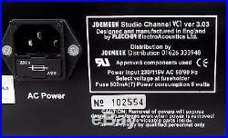 JoeMeek Studio Channel VC1 V3.03 Mic Preamp Opto Compressor Enhancer + Garantie