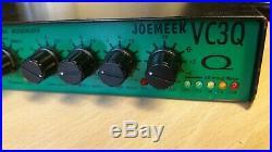 Joe Meek VC3Q Preamp Compressor Equalizer EQ