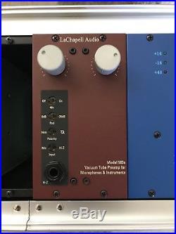 Lachapell 583s tube microphone preamp API 500 series Big Warm Sound